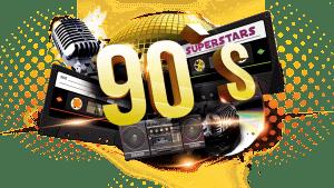 90s Festival LOGOTYP soloThomas