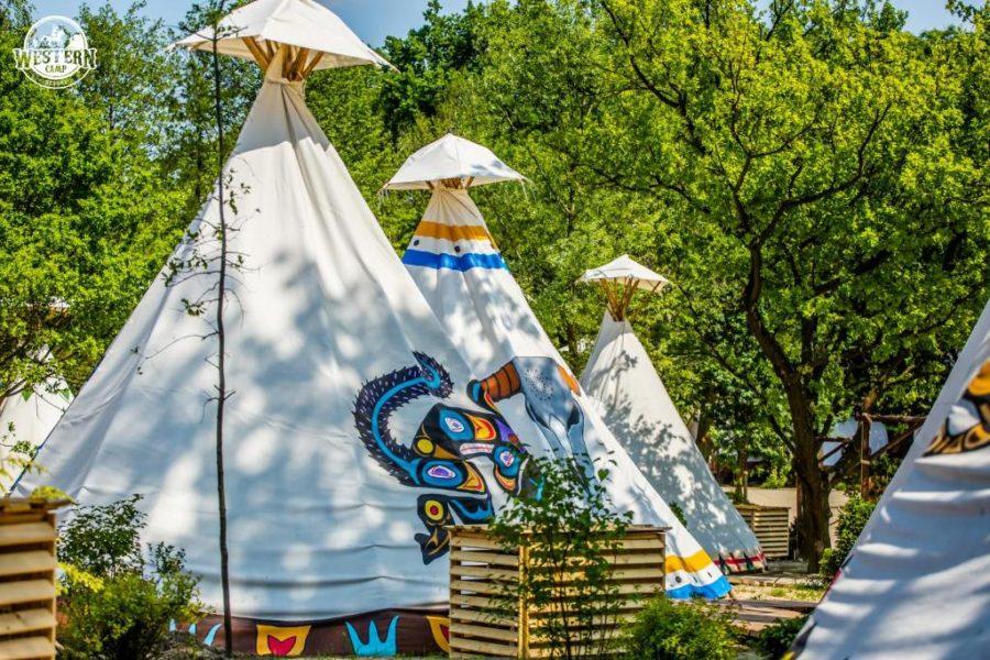 Wioska Indianska Western Camp Energylandia Rodzinny Park