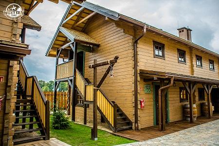 Domki Western Camp Energylandia Rodzinny Park Rozrywki W Zatorze