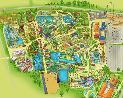 About Theme Park Energylandia Bigest Theme Park In Poland Zator - Map-of-amusement-parks-in-the-us