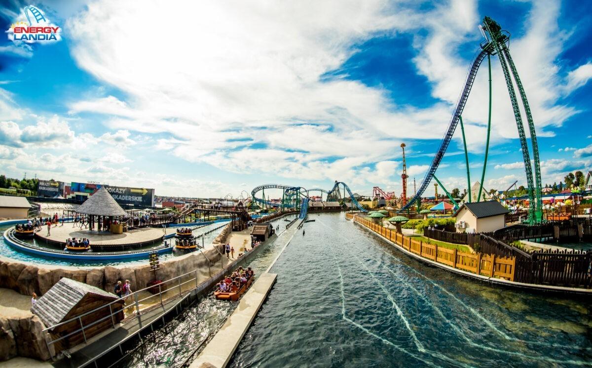 Wodne atrakcje w Energylandii