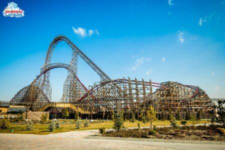Rollercoaster Zadra w Enerrgylandii